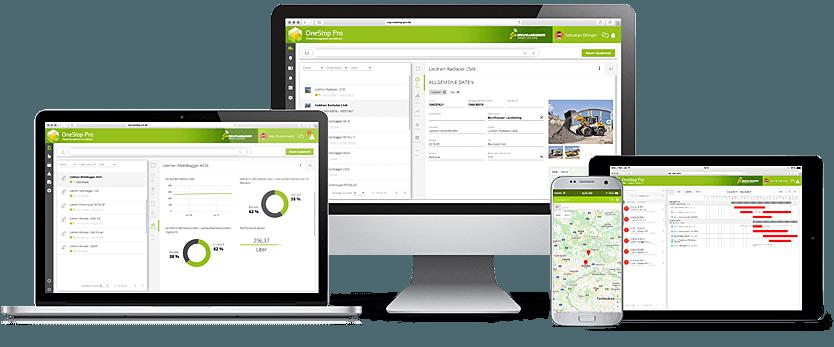 OneStop Pro – Digitales Flottenmanagement auf allen Geräten