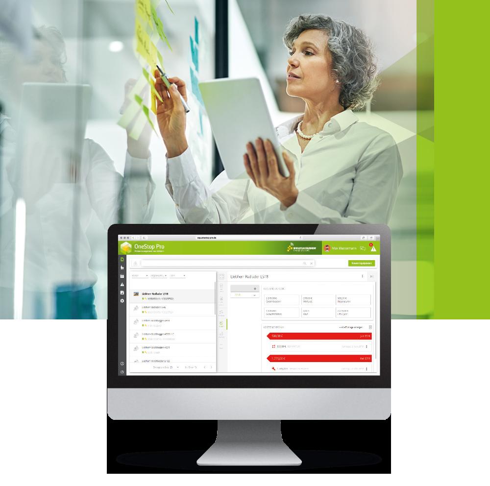 OneStop Pro Controlling für Flottenmanagement Kostenüberwachung