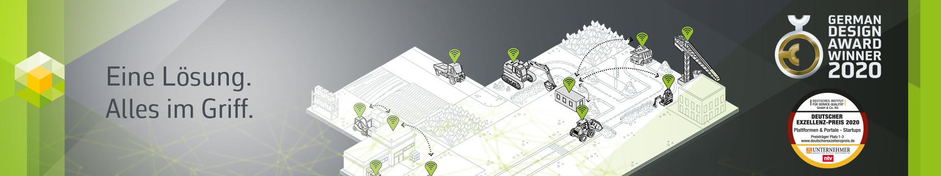 Eine Lösung. Alles im Griff. OneStop Pro definiert das Flottenmanagement neu.