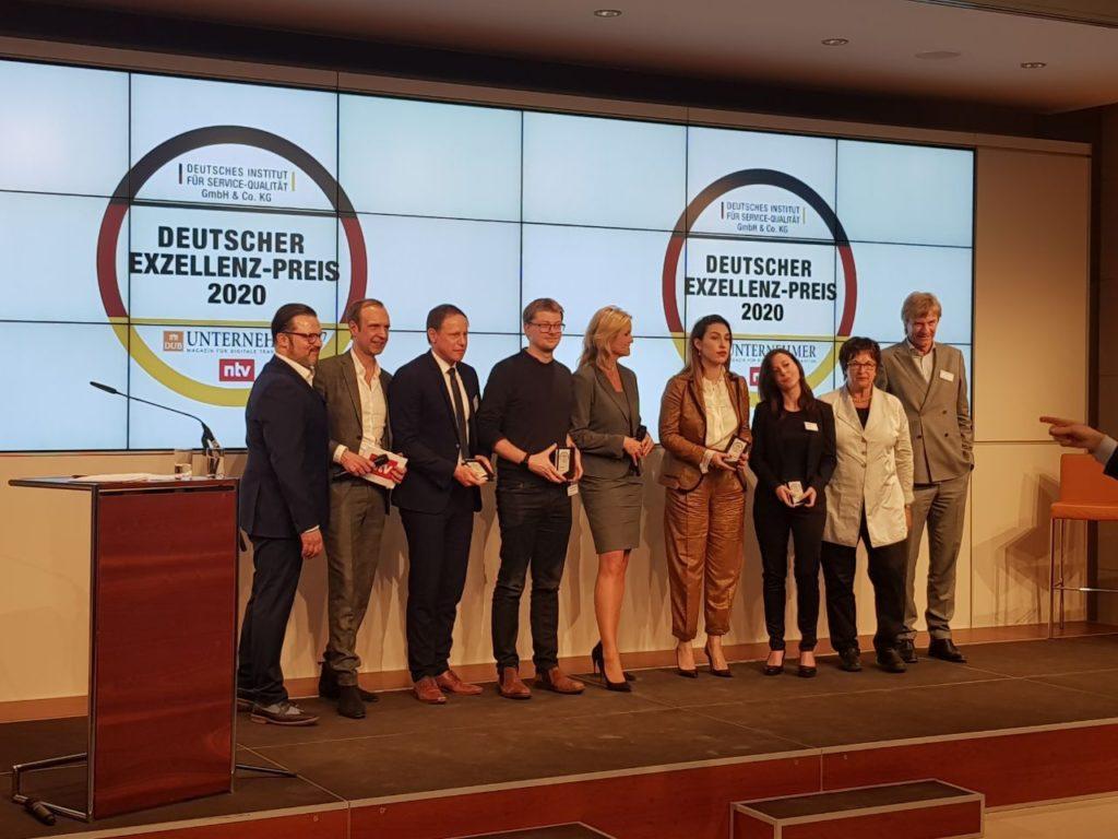 OneStop Pro® ist Preisträger des Deutschen Exzellenz-Preises 2020