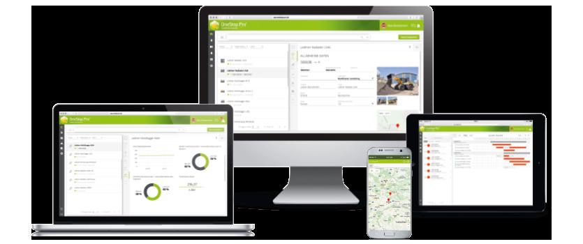 OneStop Pro – auf allen Geräten